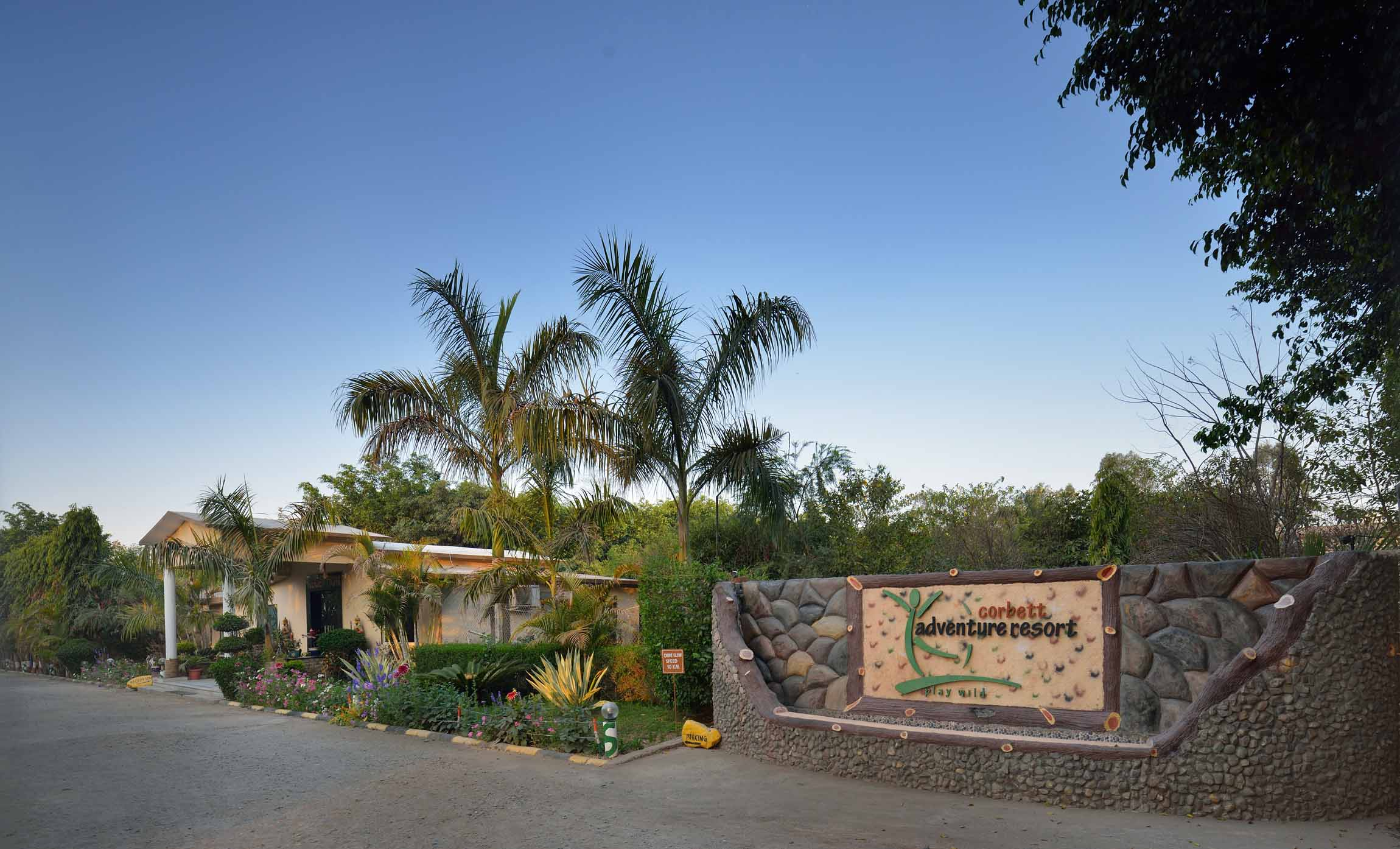 Corbett Adventure Resort In jim Corbett