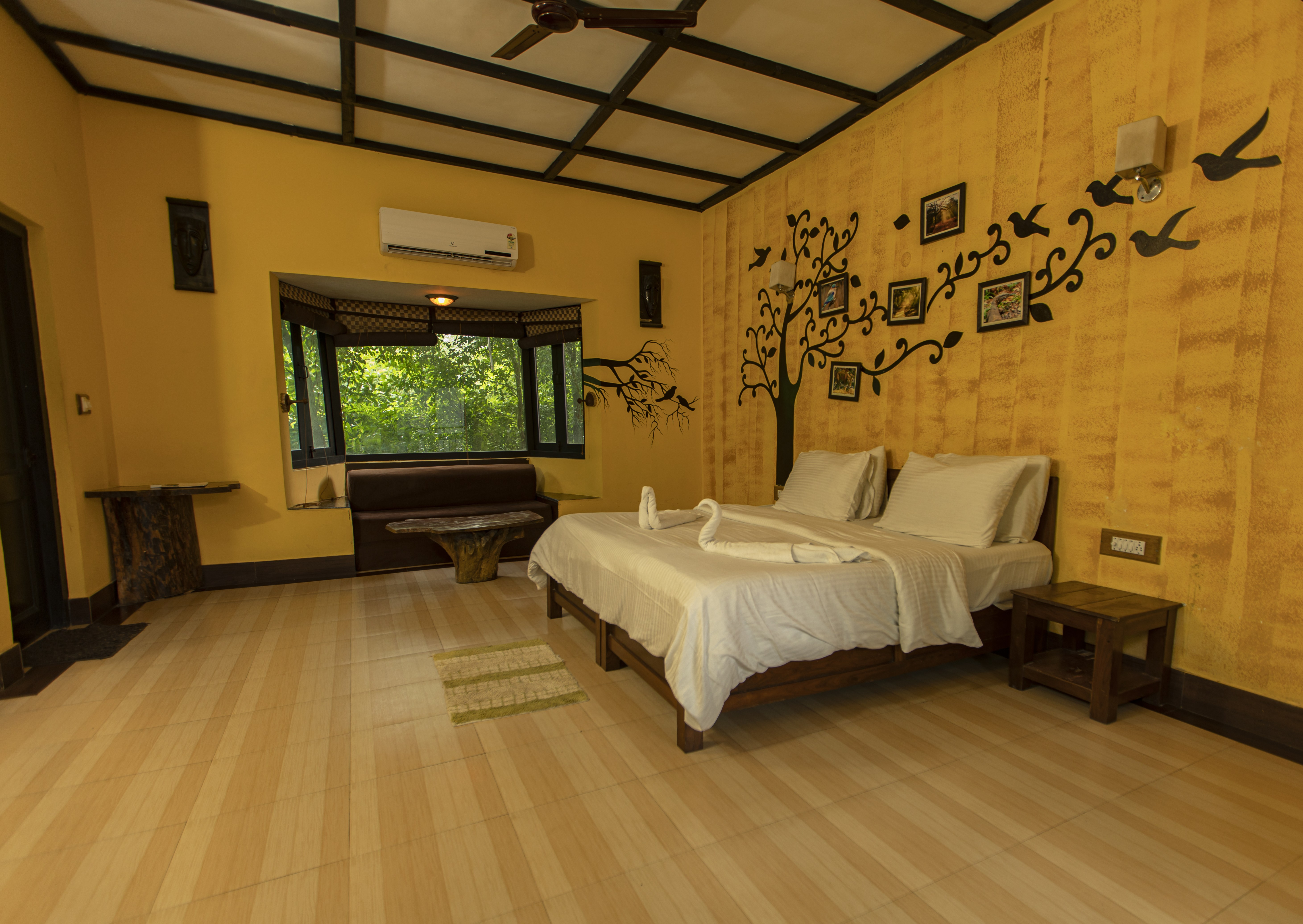 Machaan resort Corbett