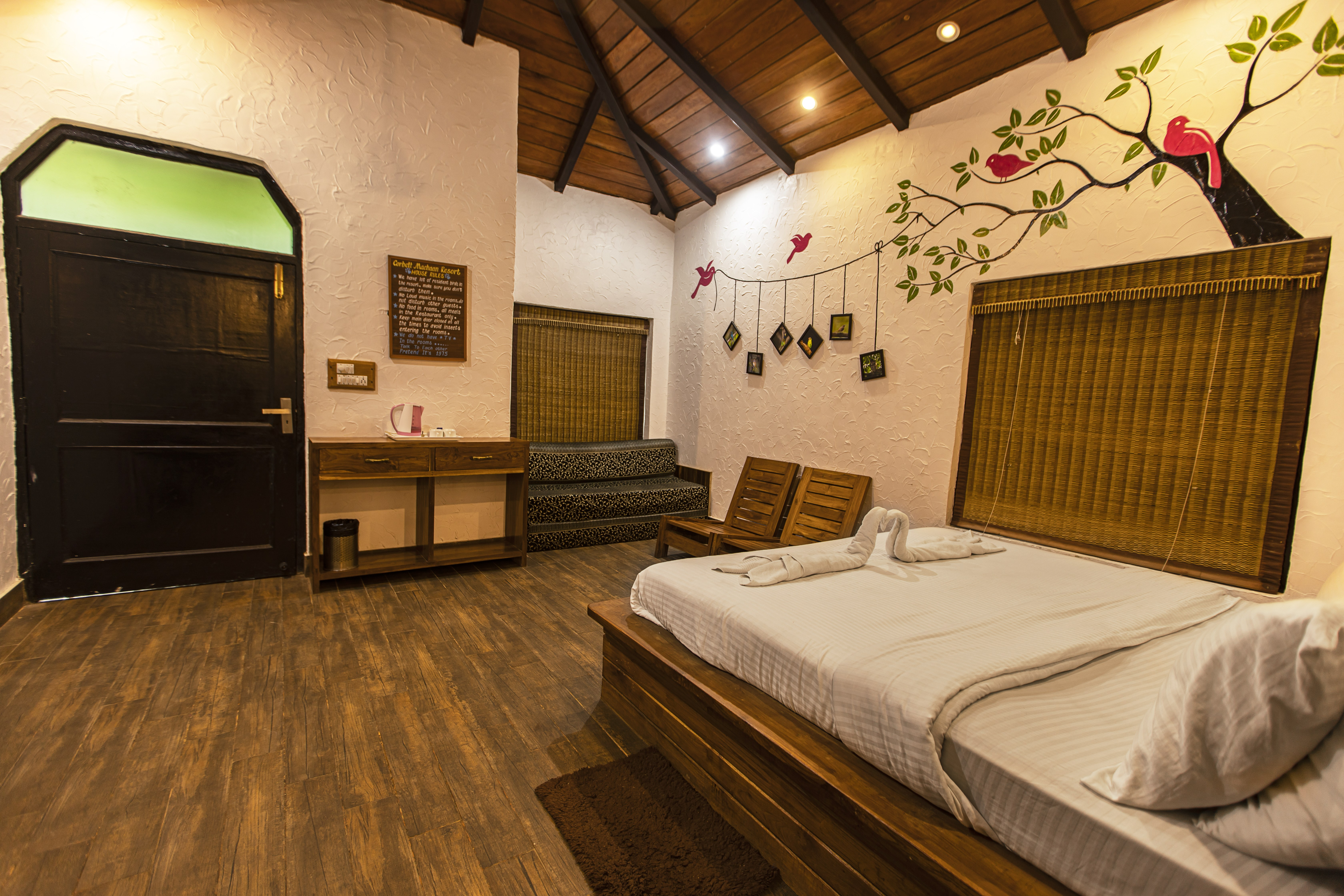 Machaan resort In Jim Corbett