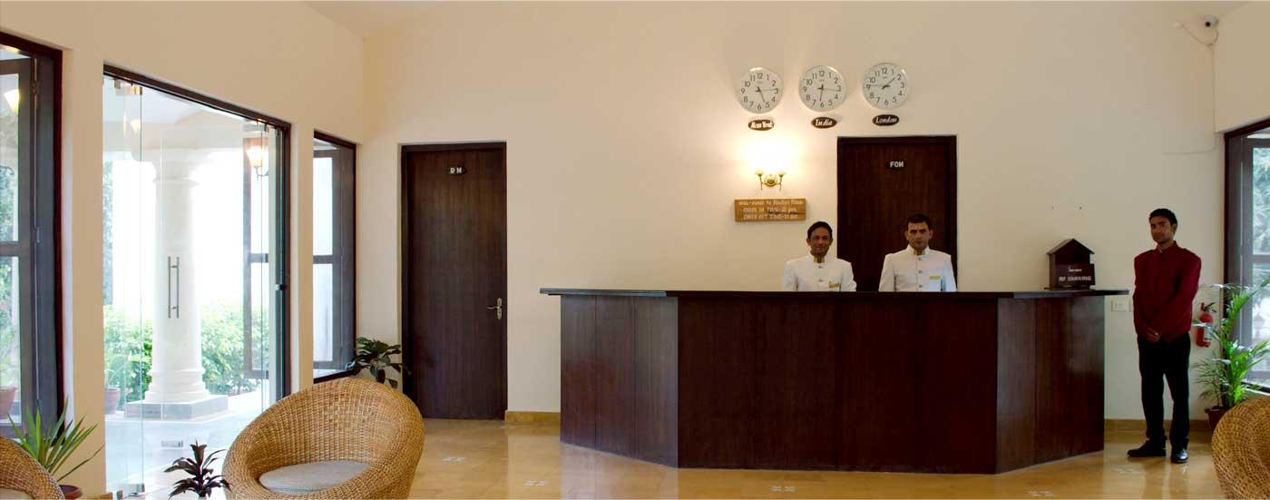 Recepton Nadiya Parao Resort