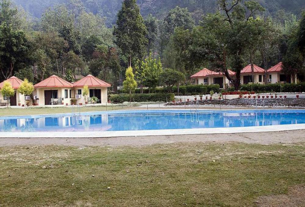 Swiming Pool Ramganga resort