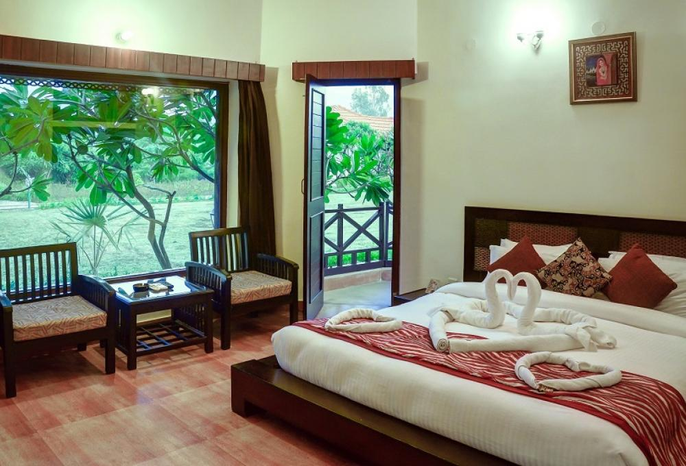 Cottage Inner View Gajraj Trails Resort