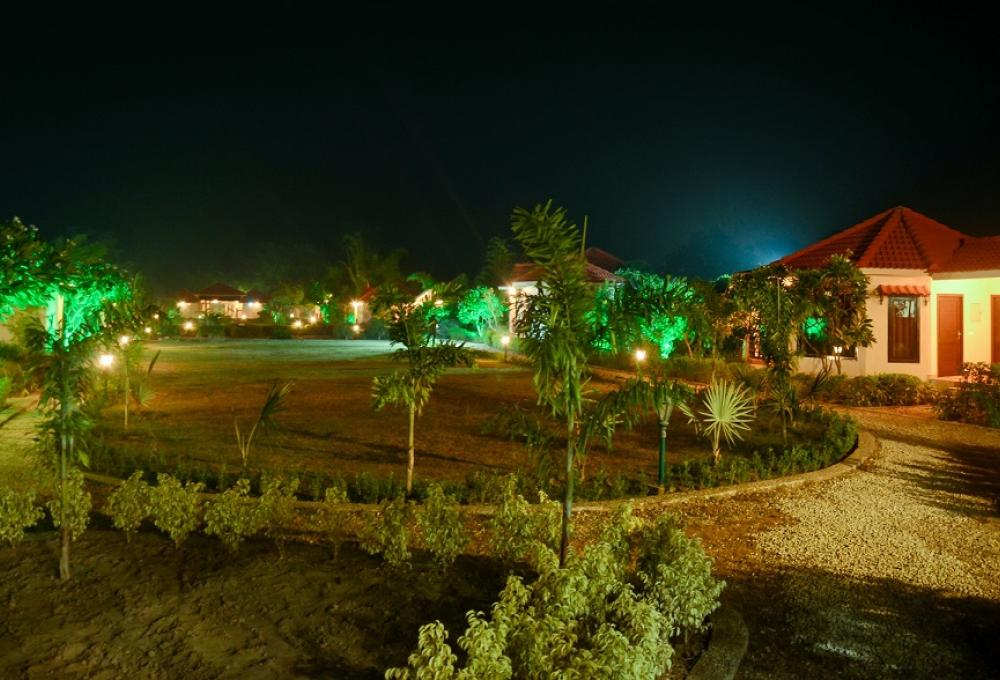Night View Gajraj Trails Resort