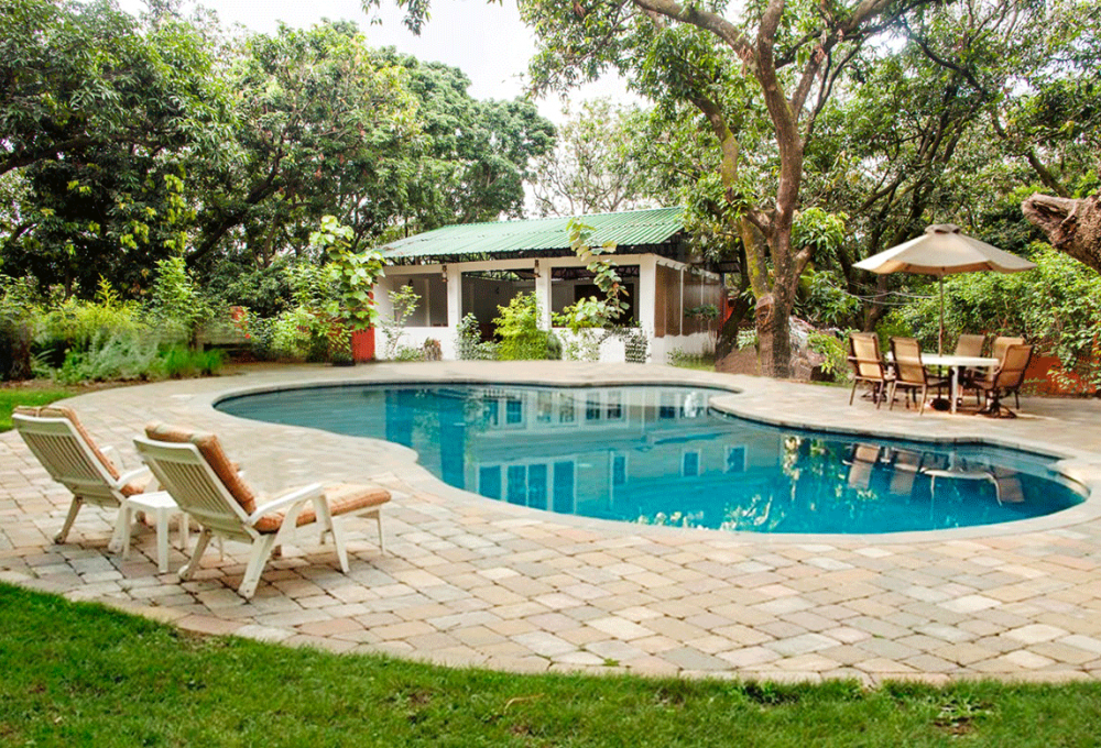 Swimming pool Holiday Highlights in corbett