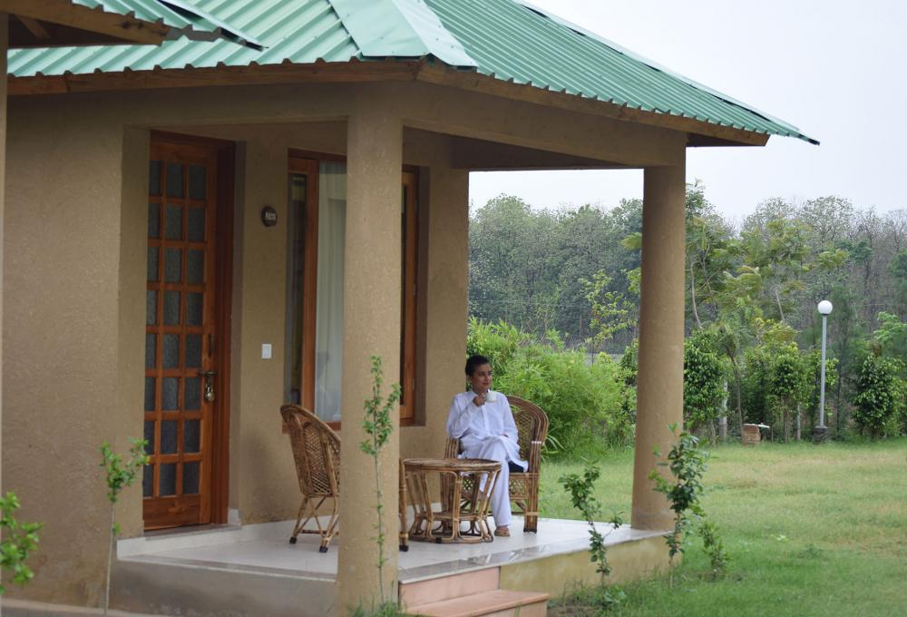 Mud Hut Aura resort corbett
