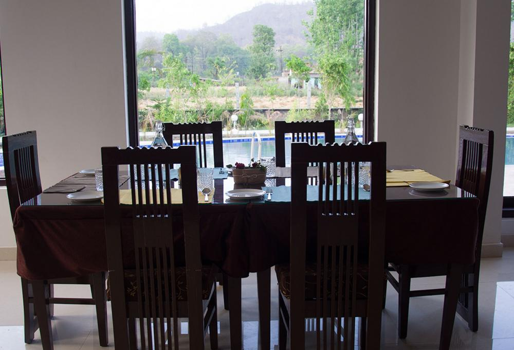 Restaurant Aura resort corbett