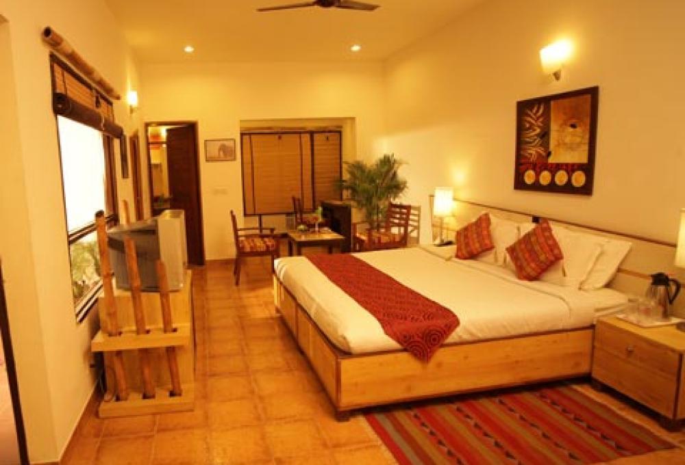 Luxury Deluxe Room country in corbett