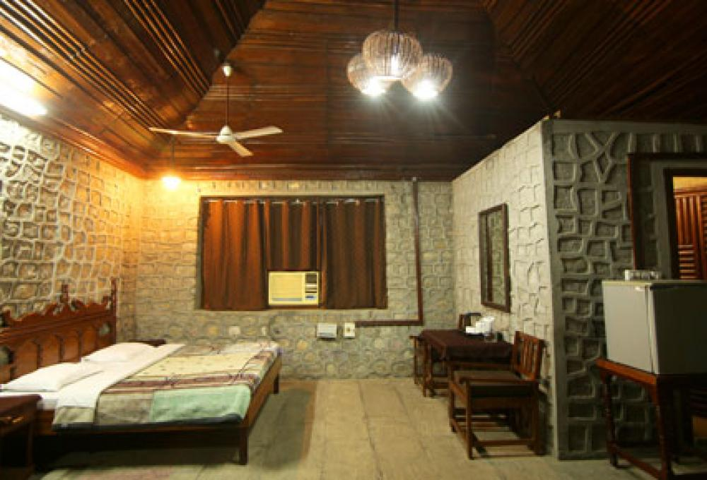 Rock Cottage Ashokas Tiger Trail Resort