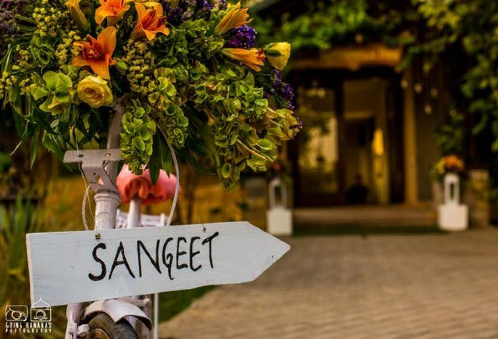 Wedding Sangeet Aahana Resort