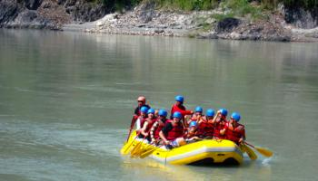 Rafting in Rishikesh @1799